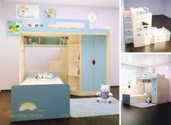 Детская двухъярусная кровать Happy Kids K-8S
