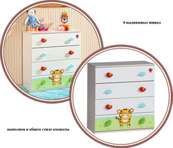 Комод Cilek Baby Safari Klas SF-1203