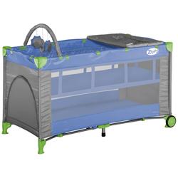 Кровать-манеж Bertoni Zippy 2 Layer Plus Gray&Blue