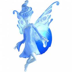Маленький светильник для девочек Волшебная фея